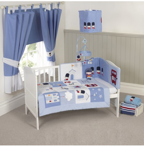 4Baby 5 Piece Nursery Set - Night Night Soldier