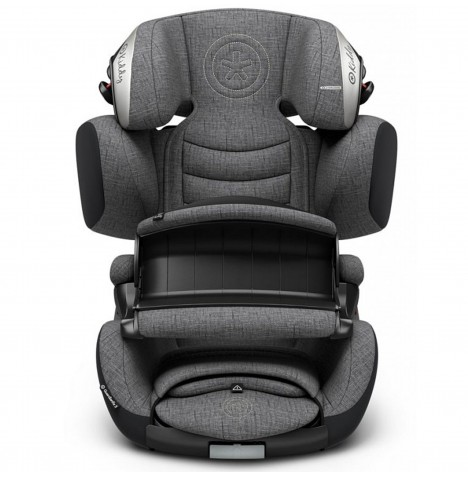 Kiddy Guardianfix 3 Group 1,2,3 Isofix Car Seat - Grey Melange
