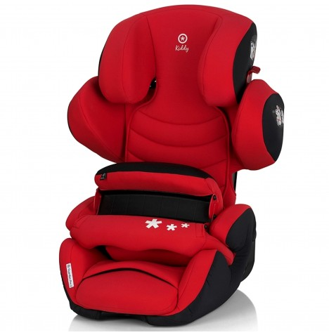 Kiddy Guardian Pro 2 Group 1,2,3 Car Seat - Chili Red