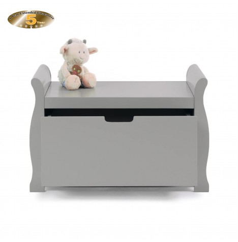 Obaby Stamford Toy Box - Warm Grey