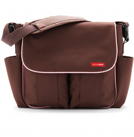 Skip Hop Dash Signature Changing Bag - Deluxe Chocolate