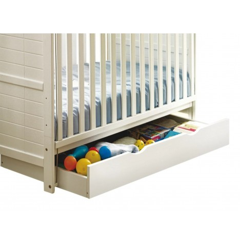 4Baby Large Under Bed Rollaway Drawer - White