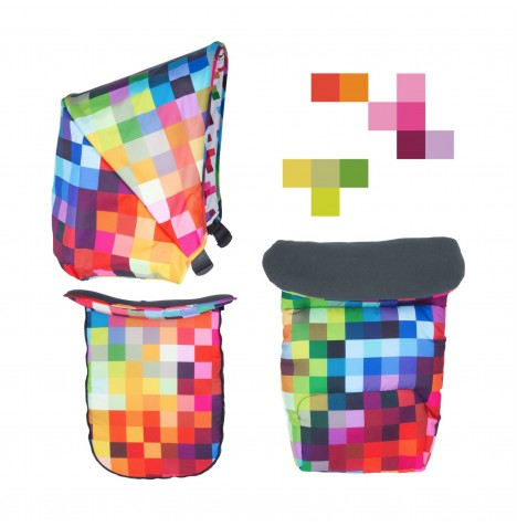 Cosatto Giggle Mix Colour Pack Accessories - Pixelate