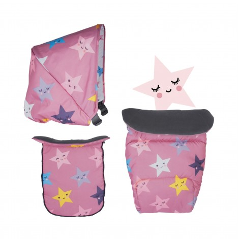Cosatto Giggle Mix Colour Pack Accessories - Happy Stars