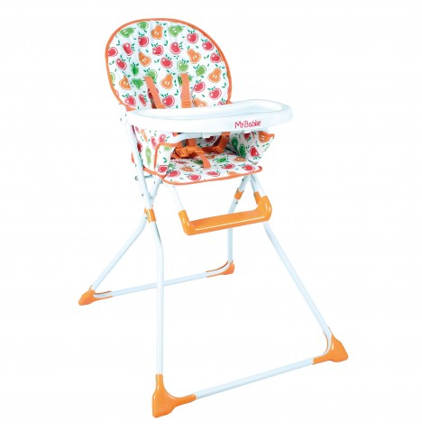 My Babiie MBHC1 Compact Highchair - Apples & Pears