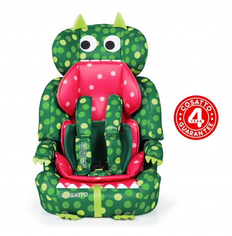 Cosatto Zoomi Group 123 Car Seat - Dino Mighty