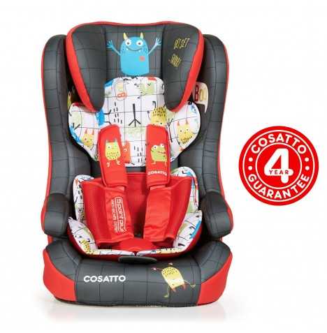 Cosatto Hubbub Group 123 ISOFIX Car Seat - Monster Mob
