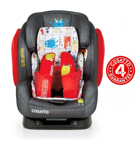 Cosatto Hug Group 123 ISOFIX Car Seat - Monster Mob