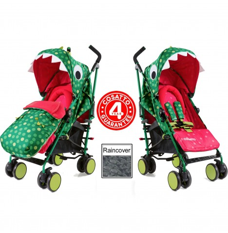 Cosatto Supa 2018 Pushchair Stroller - Dino Mighty