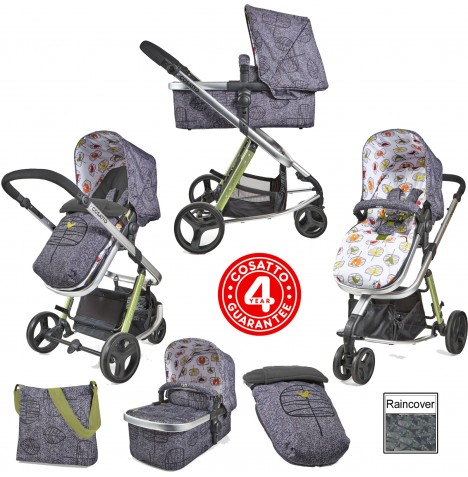 Cosatto Giggle 2 Combi 3 in 1 Pushchair - Dawn Chorus