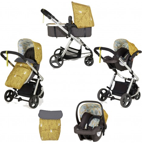 Cosatto Giggle Mix Pramette Travel System - Hop To It