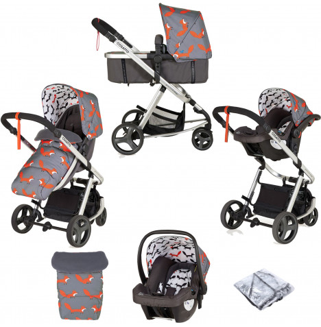Cosatto Giggle Mix Pramette Travel System - Mister Fox