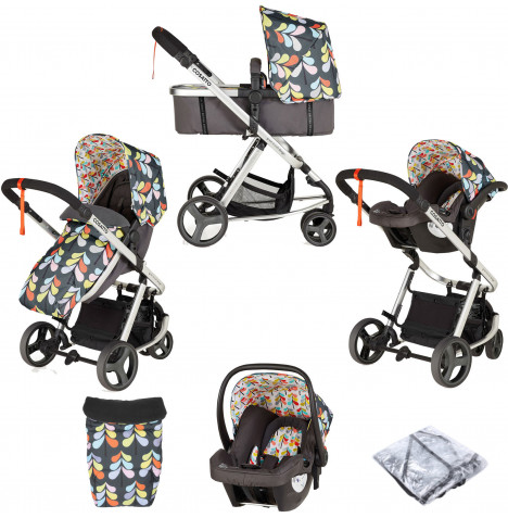 Cosatto Giggle Mix Pramette Travel System - Nordik