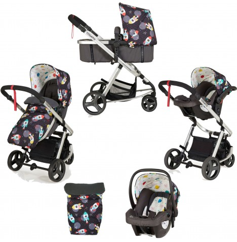 Cosatto Giggle Mix Pramette Travel System - Space Racer