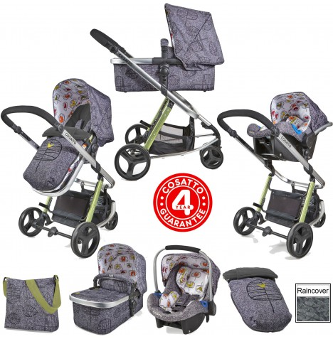 Cosatto Giggle 2 Combi 3 in 1 Travel System - Dawn Chorus