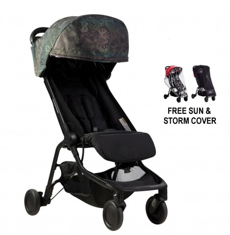 Mountain Buggy Special Edition Nano Stroller With All Weather Cover Set - Year Of The Dog