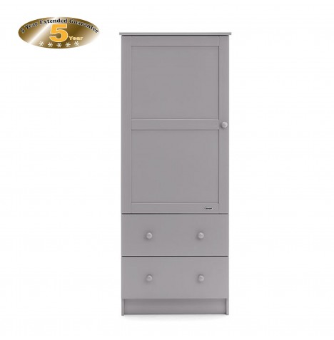 Obaby Single Wardrobe - Warm Grey
