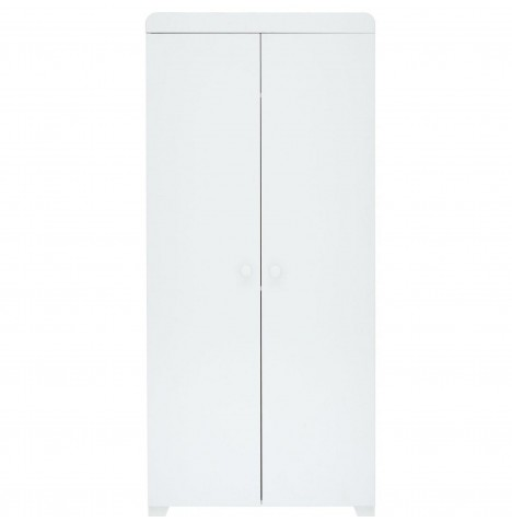 Little Acorns Classic Milano Wardrobe - White