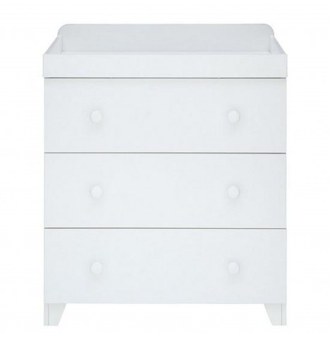 Little Acorns Classic Milano Dresser - White