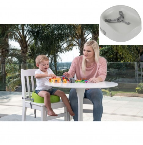 Bumbo Booster Seat - Cool Grey