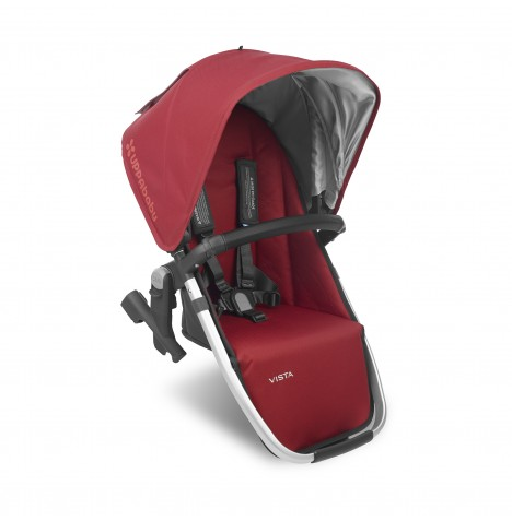 Uppababy RumbleSeat (2018) / Vista 2nd Seat Unit - Denny Red