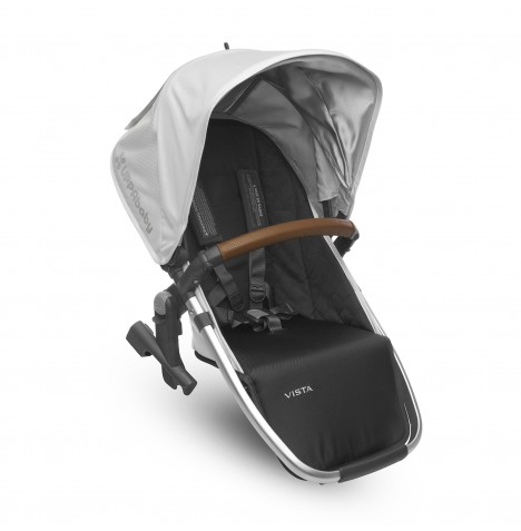 Uppababy RumbleSeat (2018) / Vista 2nd Seat Unit - Loic White