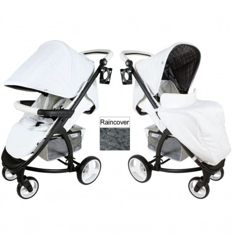 My Babiie MB200 Pushchair *Katie Piper Believe Collection* - White..