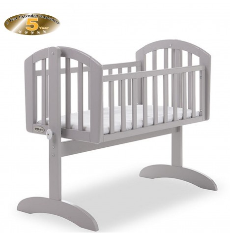 Obaby Sophie Swinging Crib - Warm Grey