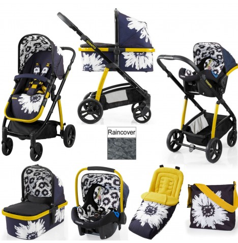 Cosatto Wow 3 in 1 Combi Travel System With Accessories - Sunburst..