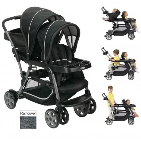 Graco Ready 2 Grow Tandem Pushchair - Metropolitan