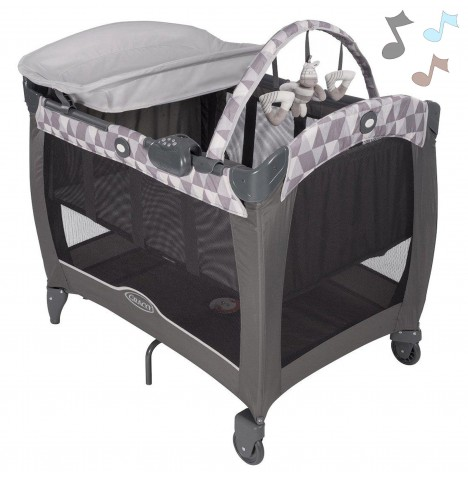 Graco Contour Electra Travel Cot - Watney