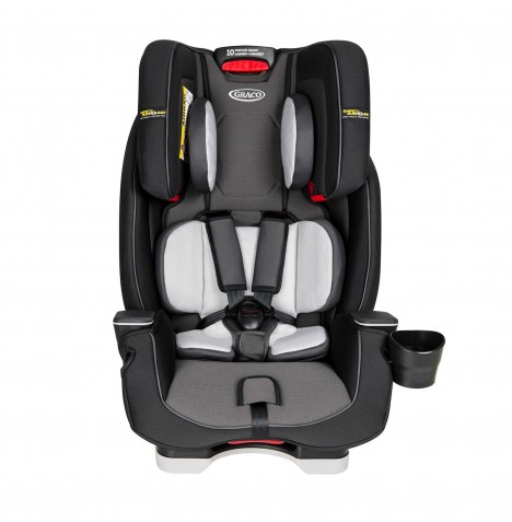 Graco Milestone Group 0/123 Car Seat - Midnight Grey