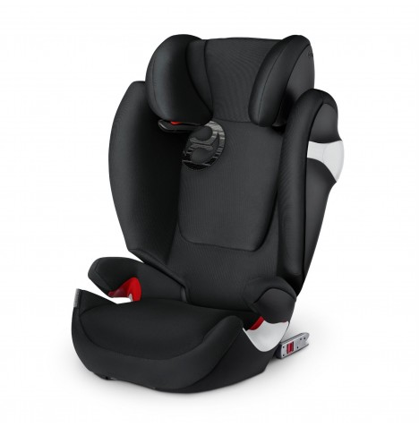 Cybex Solution M-Fix Group 2/3 ISOFIX Car Seat - Lavastone Black