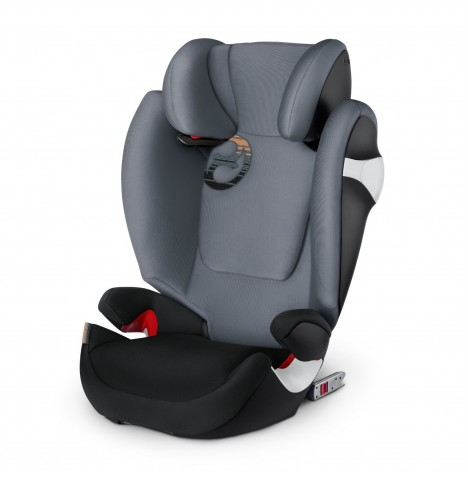 Cybex Solution M-Fix Group 2/3 ISOFIX Car Seat - Pepper Black