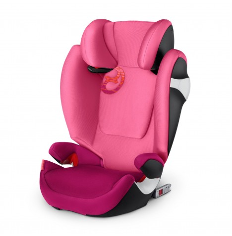 Cybex Solution M-Fix Group 2/3 ISOFIX Car Seat - Passion Pink