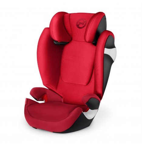 Cybex Solution M Group 2/3 Car Seat - Rebel Red