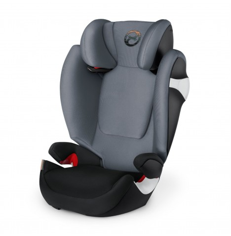 Cybex Solution M Group 2/3 Car Seat - Pepper Black