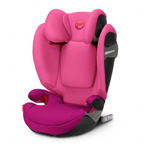 Cybex Solution S-Fix Group 2/3 ISOFIX Car Seat - Passion Pink