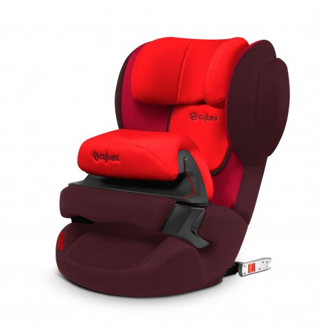 Cybex Juno 2-Fix Group 1 ISOFIX Car Seat - Rumba Red
