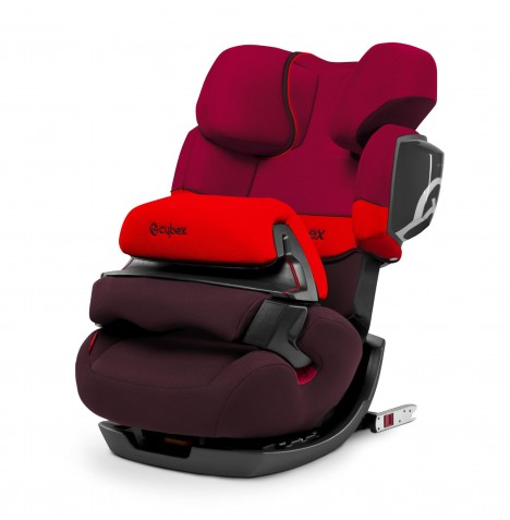 Cybex Pallas 2-Fix Group 123 ISOFIX Car Seat - Rumba Red