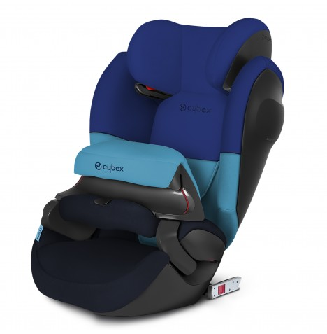 Cybex Pallas M-Fix SL Group 123 ISOFIX Car Seat - Blue Moon
