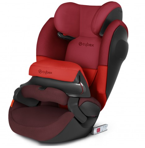 Cybex Pallas M-Fix SL Group 123 ISOFIX Car Seat - Rumba Red