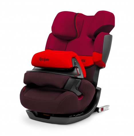 Cybex Pallas-Fix Group 123 ISOFIX Car Seat - Rumba Red