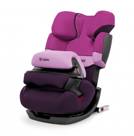 Cybex Pallas-Fix Group 123 ISOFIX Car Seat - Purple Rain