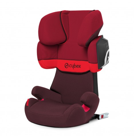 Cybex Solution X2-Fix Group 2/3 ISOFIX Car Seat - Rumba Red