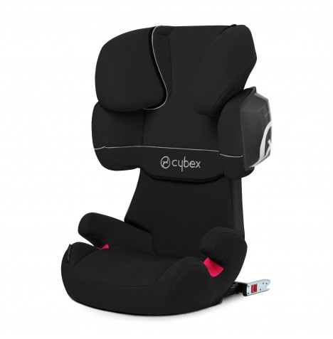Cybex Solution X2-Fix Group 2/3 ISOFIX Car Seat - Pure Black