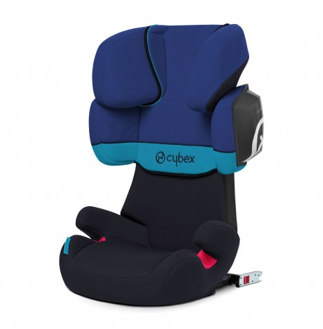 Cybex Solution X2-Fix Group 2/3 ISOFIX Car Seat - Blue Moon