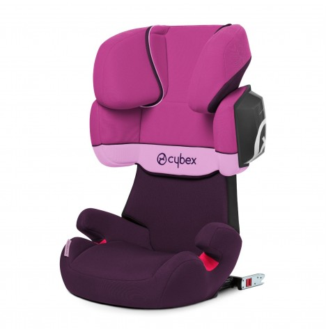 Cybex Solution X2-Fix Group 2/3 ISOFIX Car Seat - Purple Rain