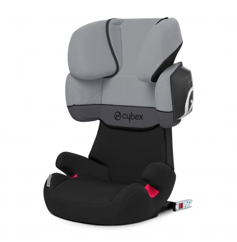 Cybex Solution X2-Fix Group 2/3 ISOFIX Car Seat - Cobblestone