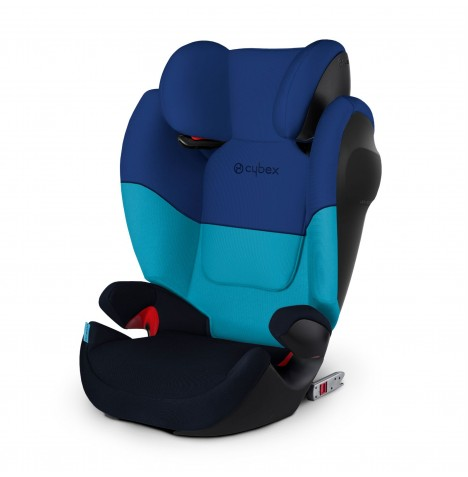 Cybex Solution M-Fix SL Group 2/3 ISOFIX Car Seat - Blue Moon